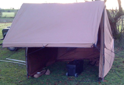 campfire tent basic configuration