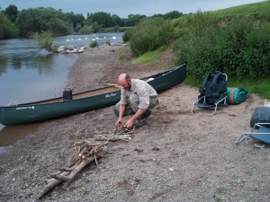 River Wye Wild Camping
