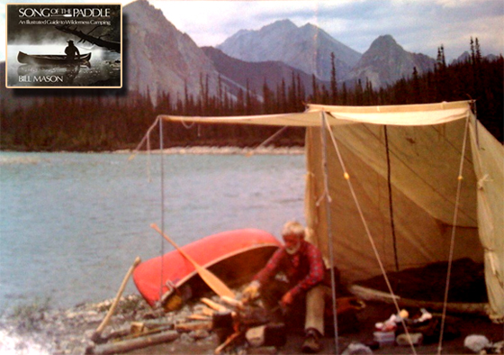 Inspiration for the Campfire Tent - Bill Mason in Song of The Paddle