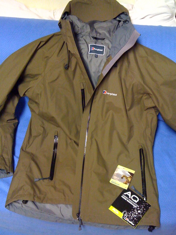 Gear Review – Berghaus Waterproof Jacket | Path Of The Paddle.co.uk