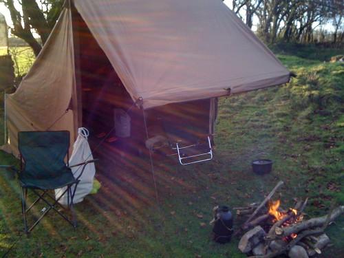 campfire tent 1