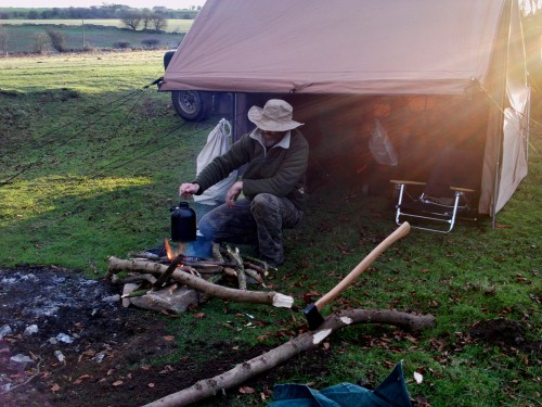 campfire tent - baker tent